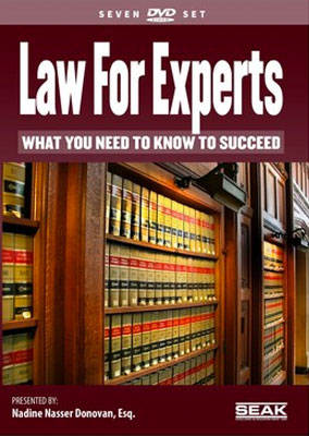 Law for Experts: What You Need to Know to Succeed-DVD Set